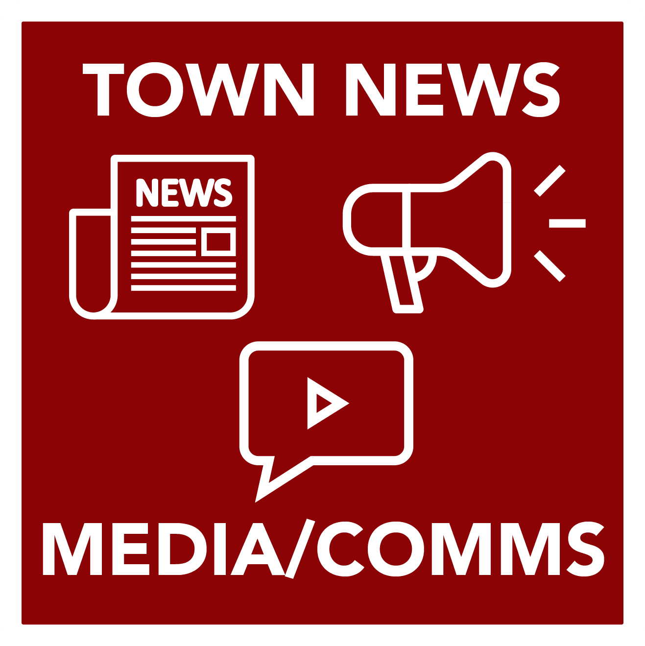 Town News - MediaComms - Button