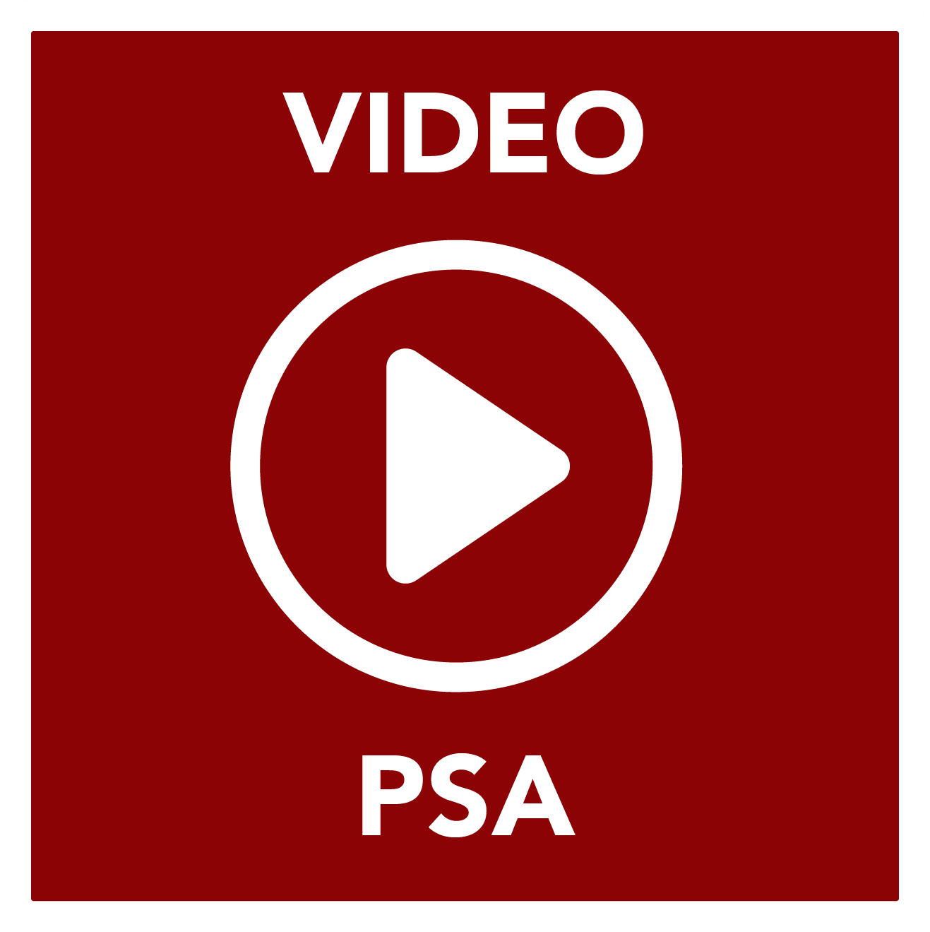 Video PSA - Button